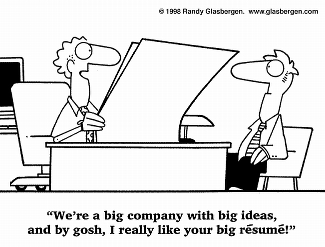 the résumé test checklist does yours pass recruiter musings